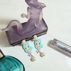 Jewelry - Lolita Mermaid Pearl Drop Earrings